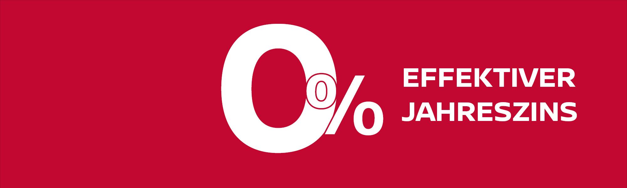 0% Finanzierung auf alle Gebrauchtwagen