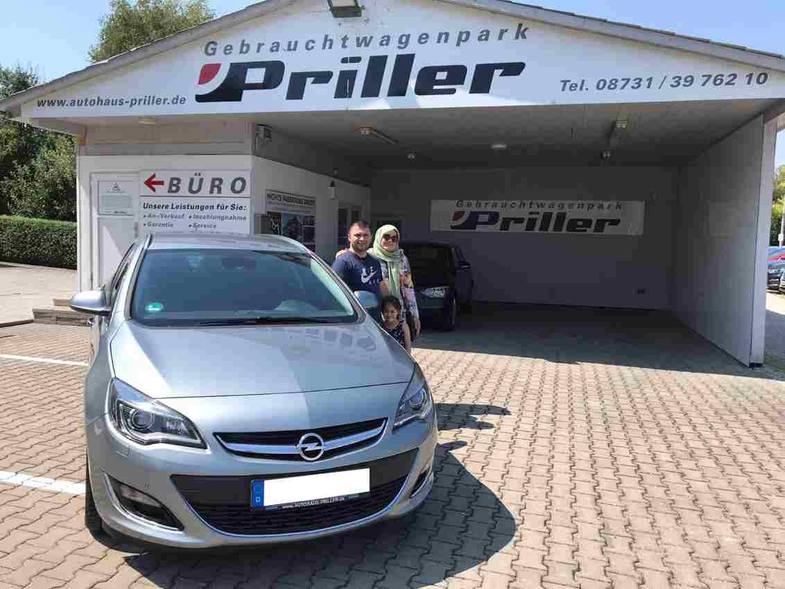 Ausl. Opel Astra Yagiz
