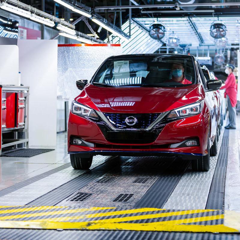 Nissan LEAF – Produktionsjubiläum 500.000