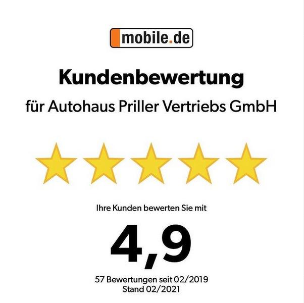 4,9 von 5,0 Sternen bei mobile.de!